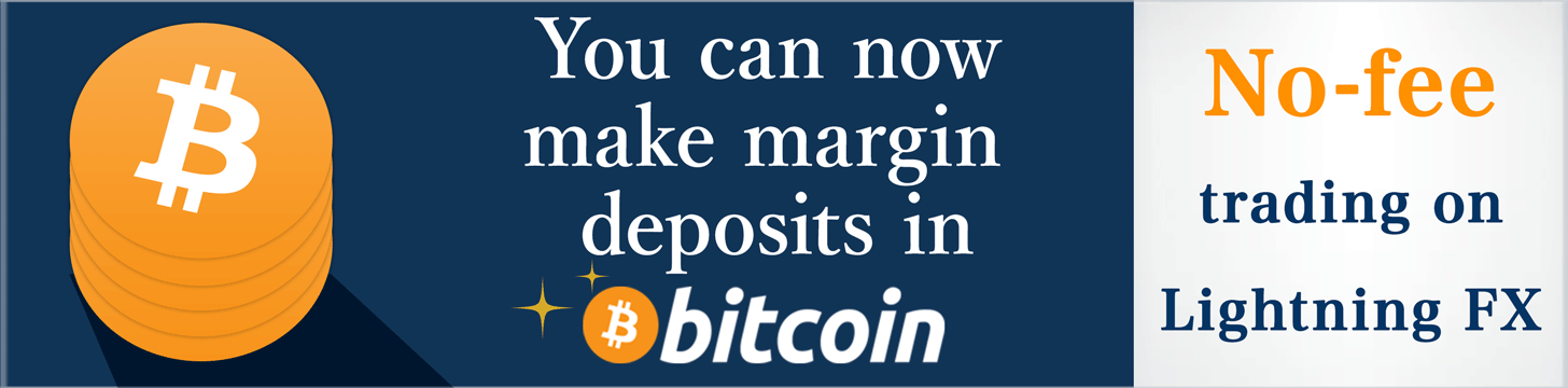 You can now make margin deposits in Bitcoin on Lightning FX!