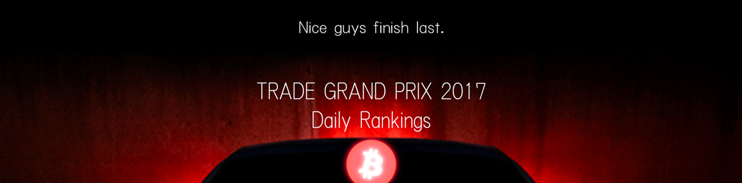 Trade Grand Prix 2017 Daily Rankings