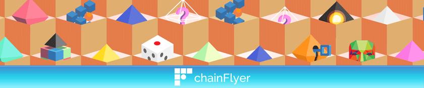 chainFlyer 独自のブロックチェーン視覚化サービス